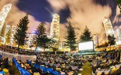 Openair Cinema back to the Gold Coast this October